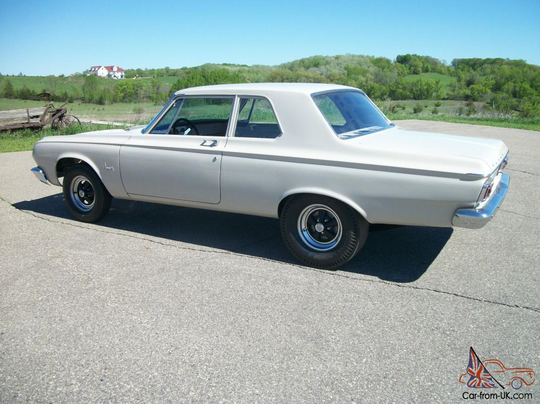 Original Factory Super Stock 1964 Plymouth Savoy 426 Max Wedge Race Dodge Hemi Gasser