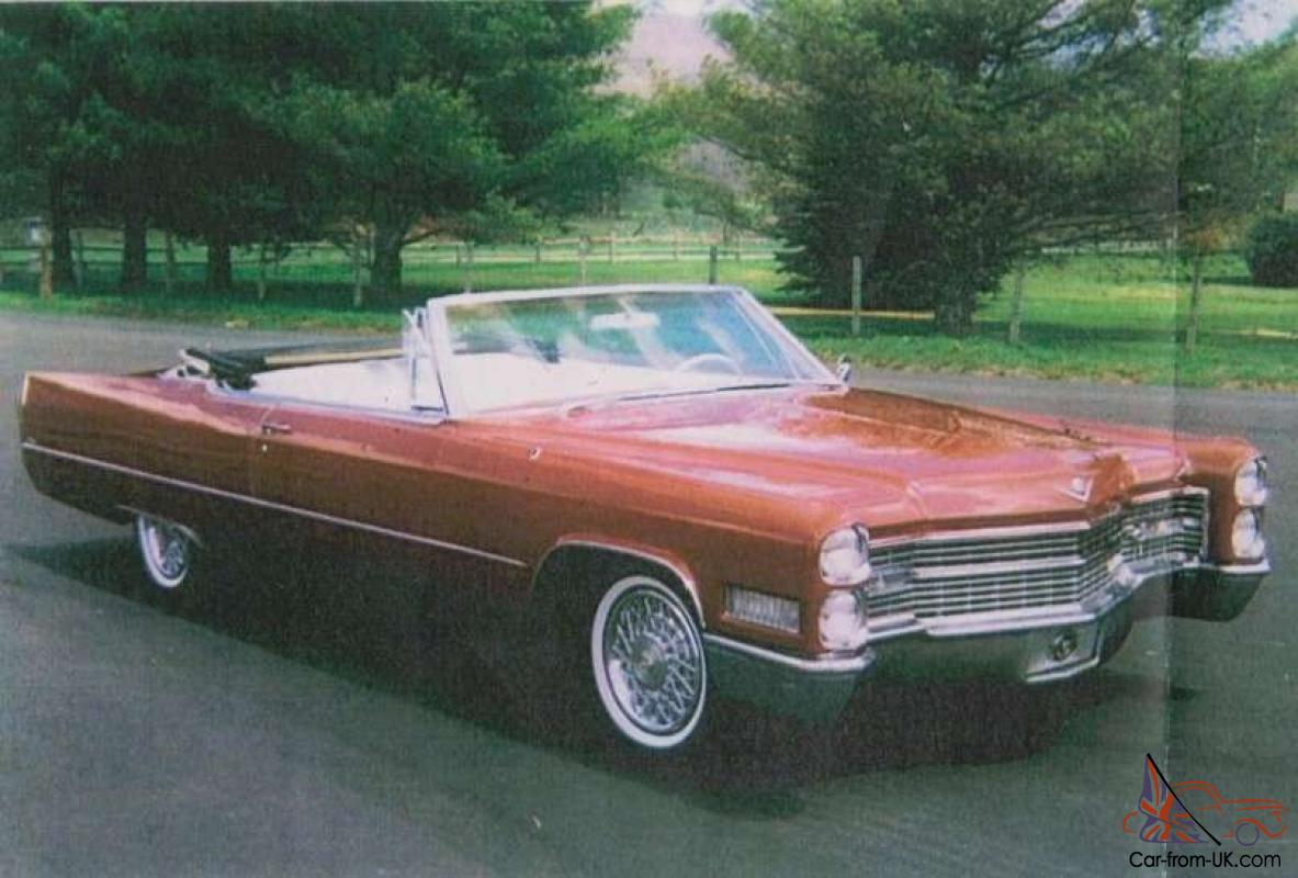 Cars For Sale Omaha Ne >> 1966 Cadillac Deville Convertible 429 V8 Automatic RWD ...