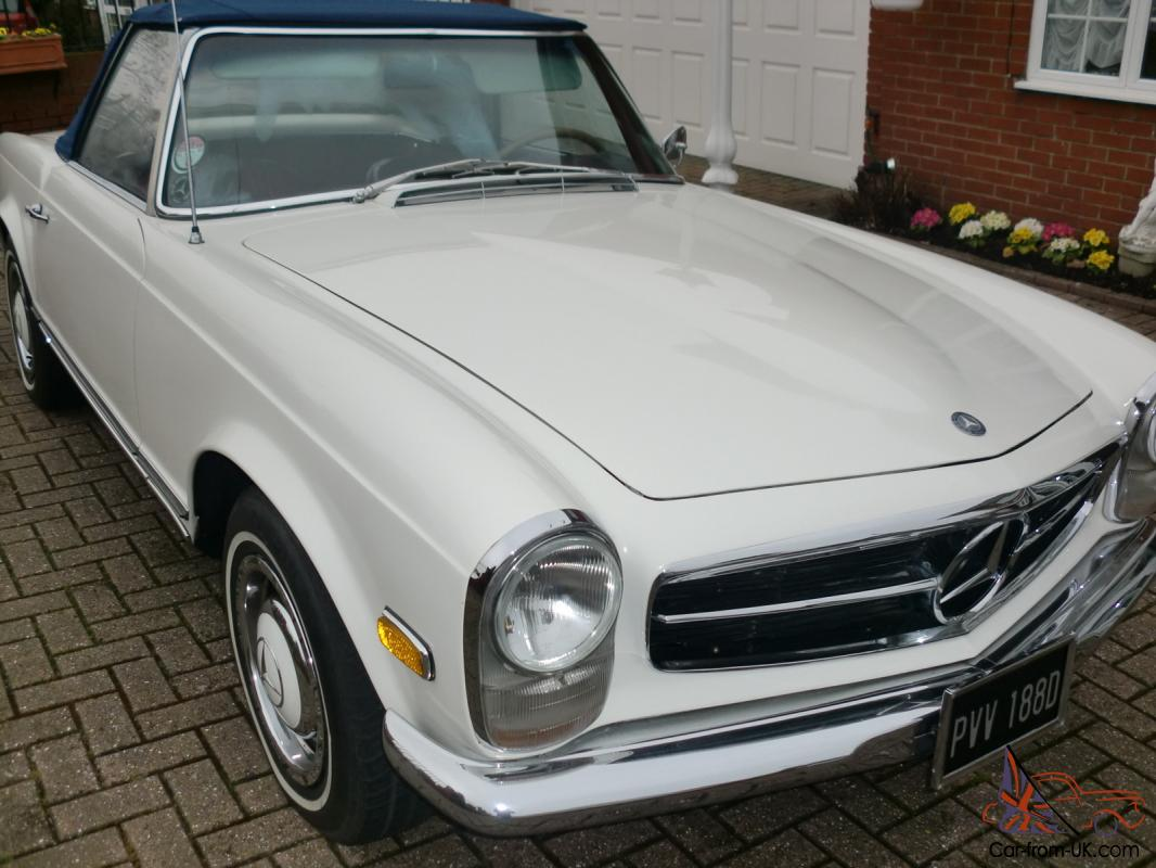 Mercedes benz classic 1966 230sl pagoda w113 for Classic mercedes benz for sale ebay