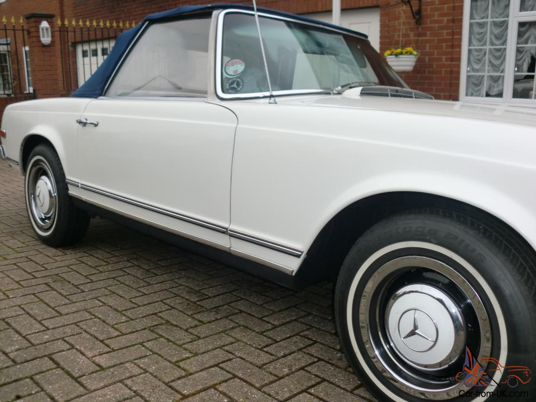Mercedes benz classic 1966 230sl pagoda w113 for Mercedes benz w113