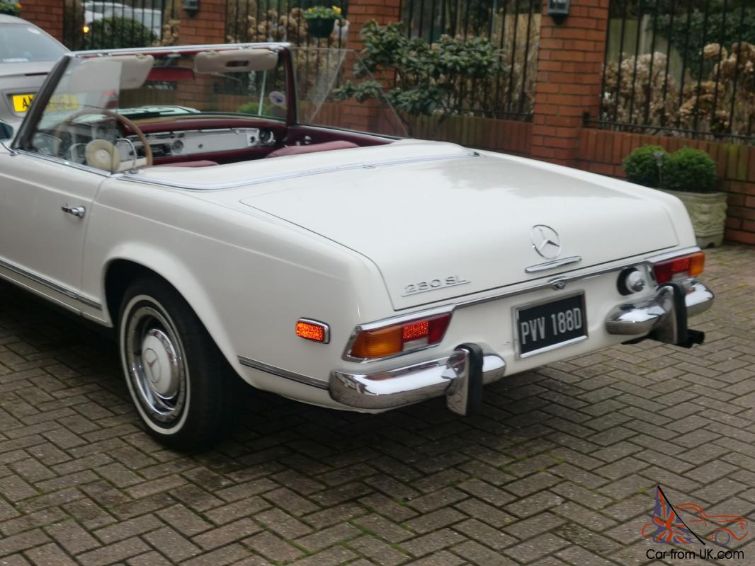 Mercedes benz classic 1966 230sl pagoda w113 for Mercedes benz pagoda