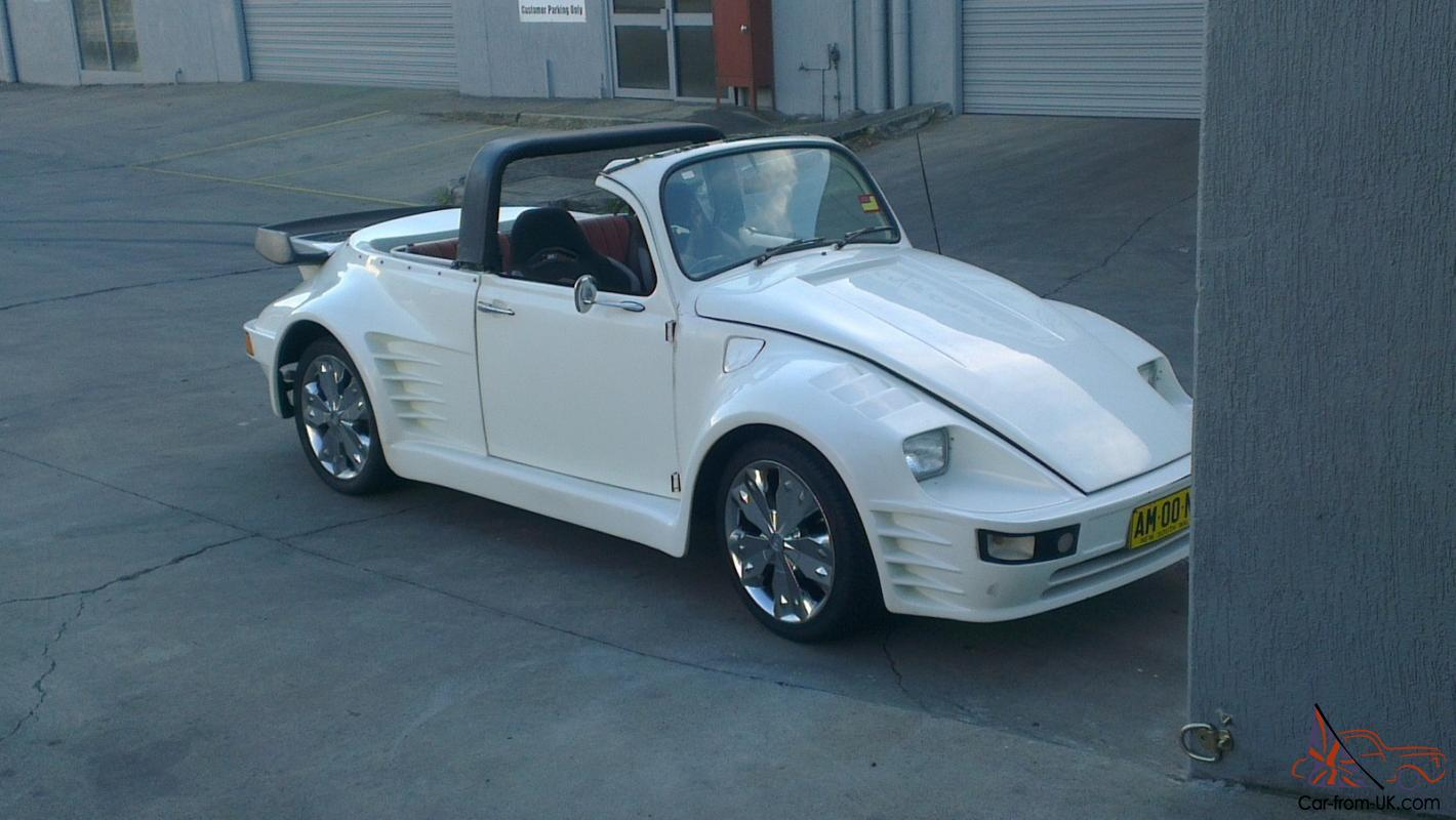 Vw Convertible Beetle 1970 Rare With Porsche Body Kit Very Nice Swap