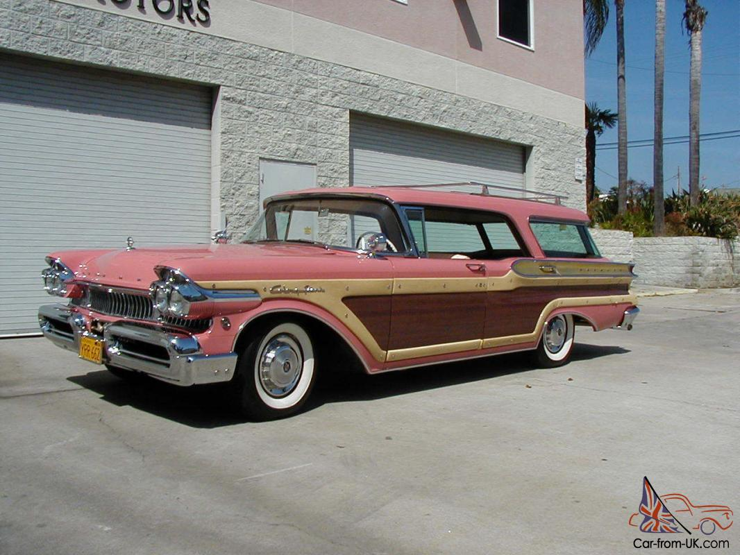 1957 MERCURY COLONY PARK WAGON. EXTREMELY RARE AND DESIRABLE WAGON