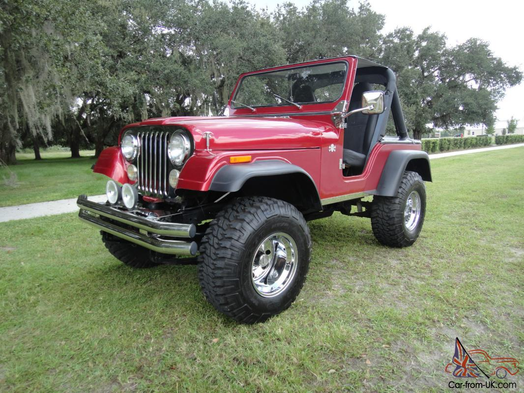 1979 jeep cj 5 florida beauty lifted 327 corvette engine. Black Bedroom Furniture Sets. Home Design Ideas