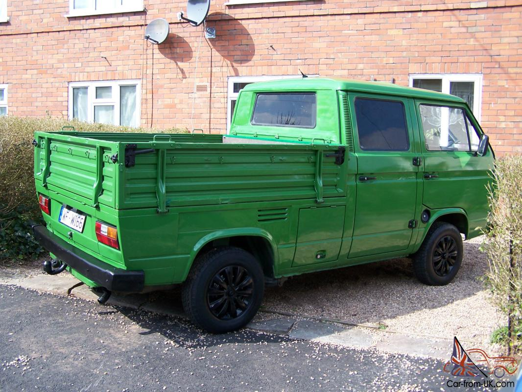 Vw T25 Crewcab Crew Cab Pick Up Doka