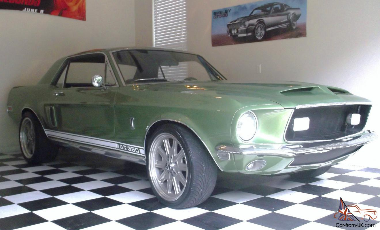 EXP 500 - 1968 Shelby Mustang - The story of a factor - Hemmings ...