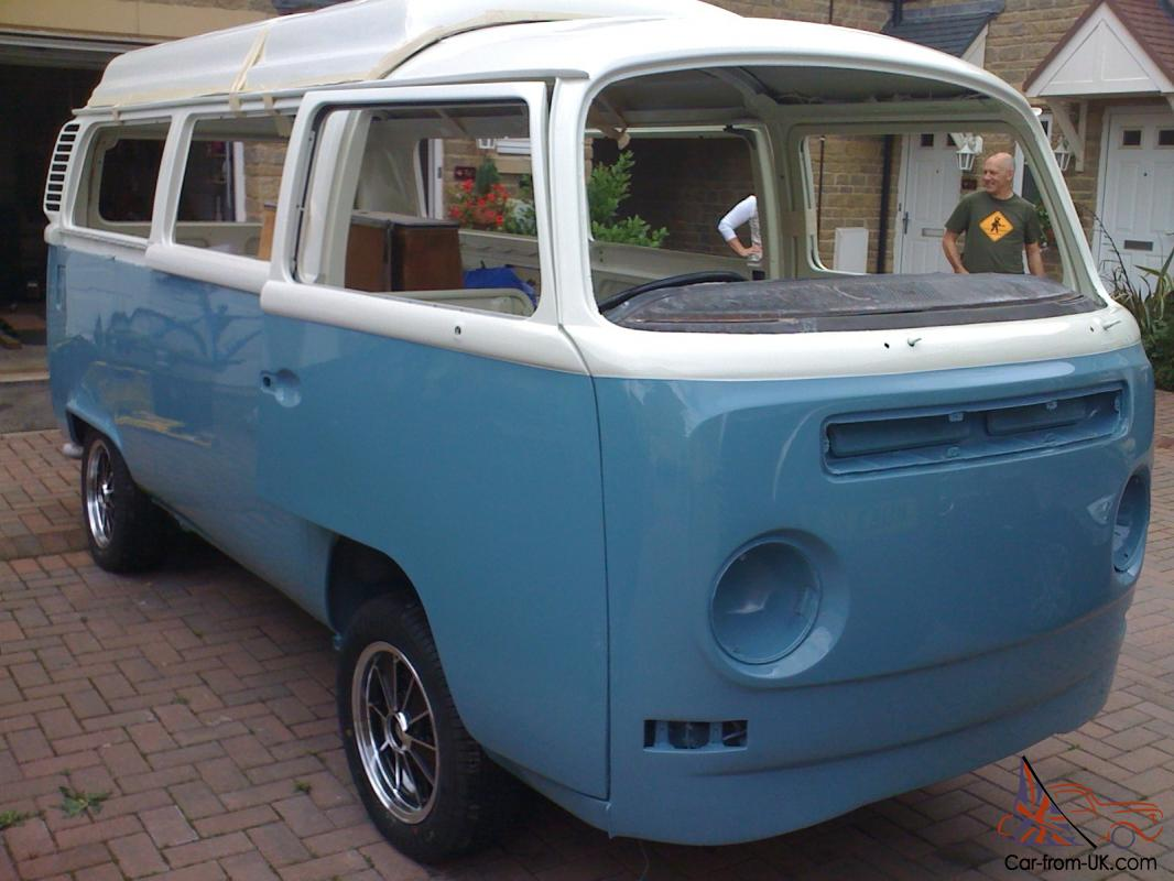volkswagen type 2 bay window camper 1972 rhd. Black Bedroom Furniture Sets. Home Design Ideas