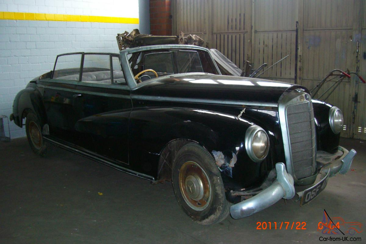 1955 dodge royal barn find for sale - 1955 Mercedes Adenauer Convertible 300 B D Barn Find Collector No Lhd Owner