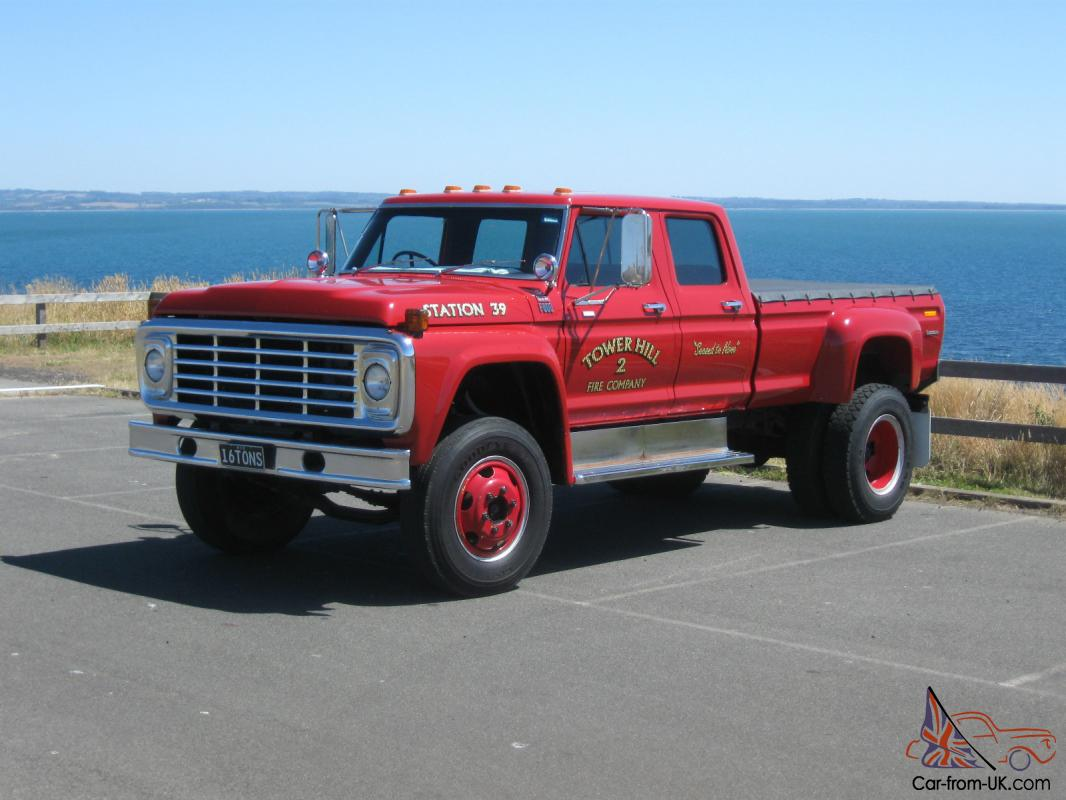 Ford F100 F250 F350 Buyers Take Note F600 Factory Built Crew CAB BIG