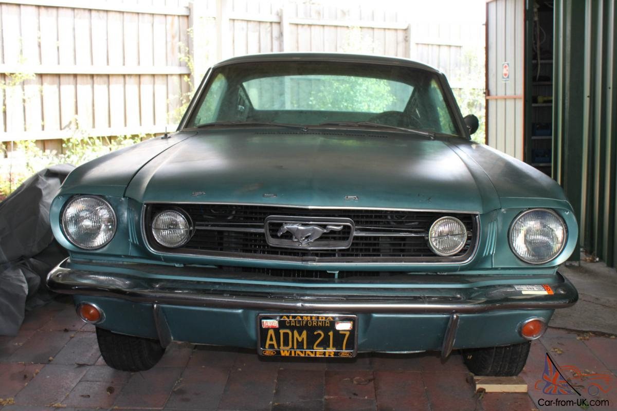1966 ford mustang gt fastback 289 4 speed w pony interior tahoe turquoise for 1966 ford mustang pony interior