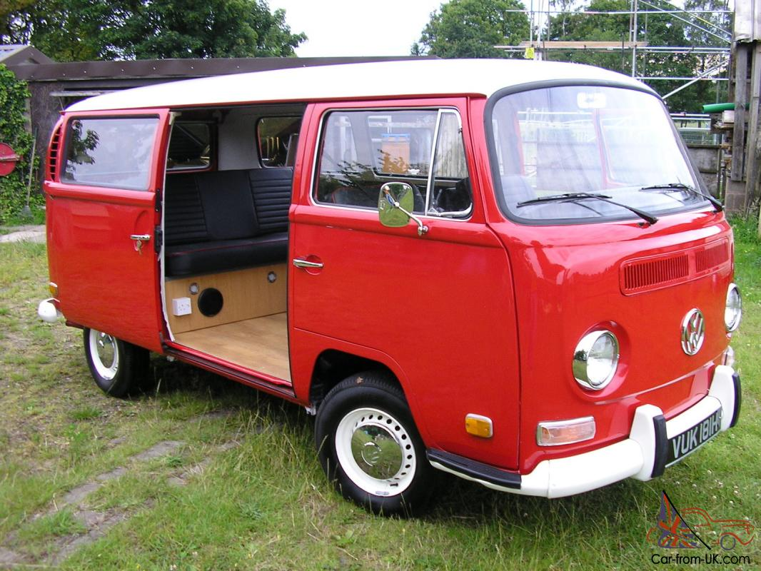 1970 Vw Type 2 Camper Van