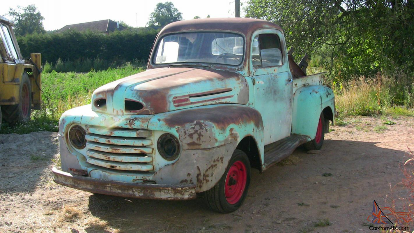 1949 ford f100 pick up truck for restoration. Black Bedroom Furniture Sets. Home Design Ideas