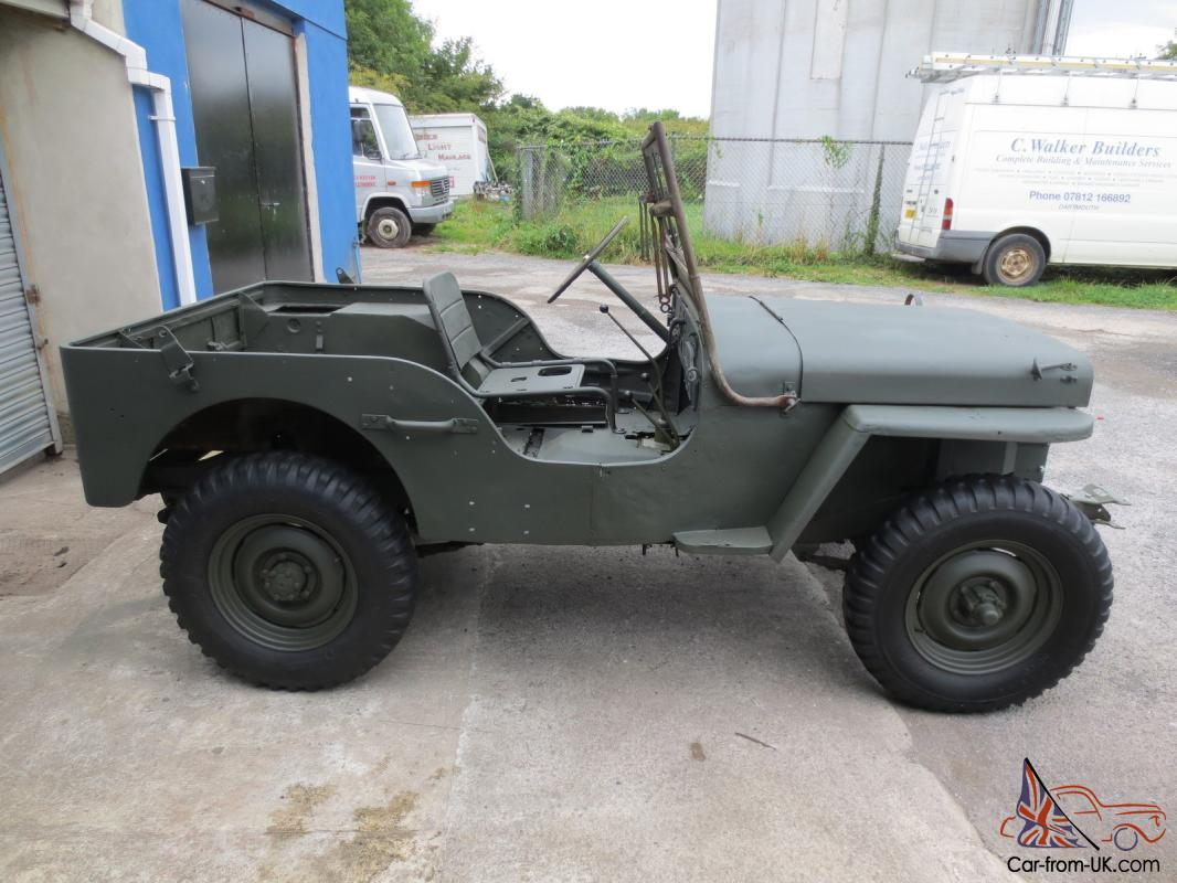 1945 willys mb ww2 jeep gpw nice winter project. Black Bedroom Furniture Sets. Home Design Ideas