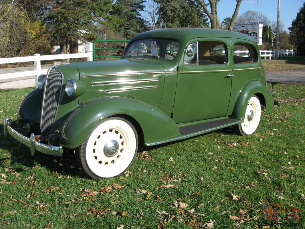 1936 chevy two door sedan