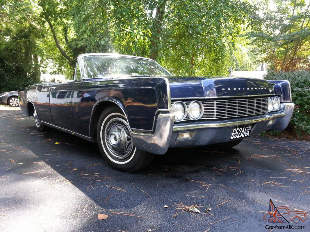 no reserve 1967 lincoln continental convertible lower price. Black Bedroom Furniture Sets. Home Design Ideas
