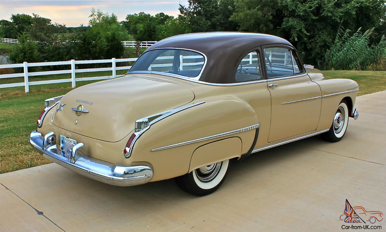 1950 Oldmobile Rocket 88 2 Door Club Coupe