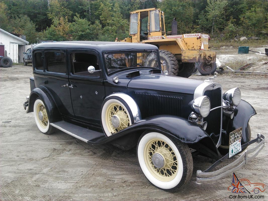 1932 dodge brothers 4 door all original 6cyl