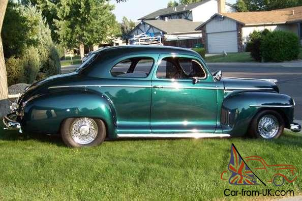 1947 plymouth 2 door coupe special deluxe p217 flat head 6