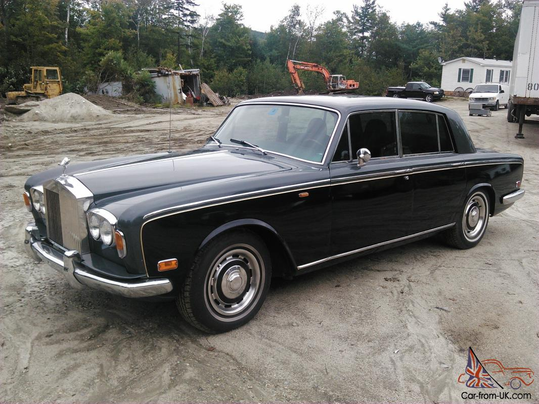 1970 Rolls Royce Silver Shadow All Original With Parts Car