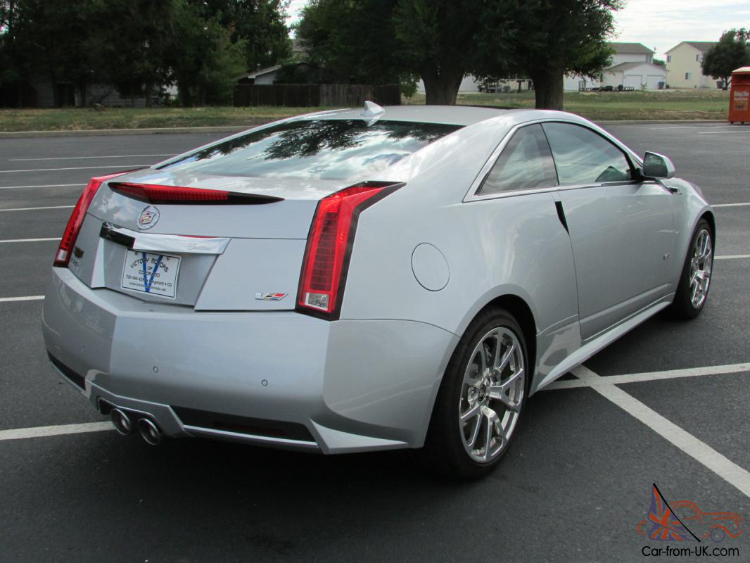 2016 Cadillac Cts V Coupe 2 Door 6 2l One Owner Only 1 900 Miles