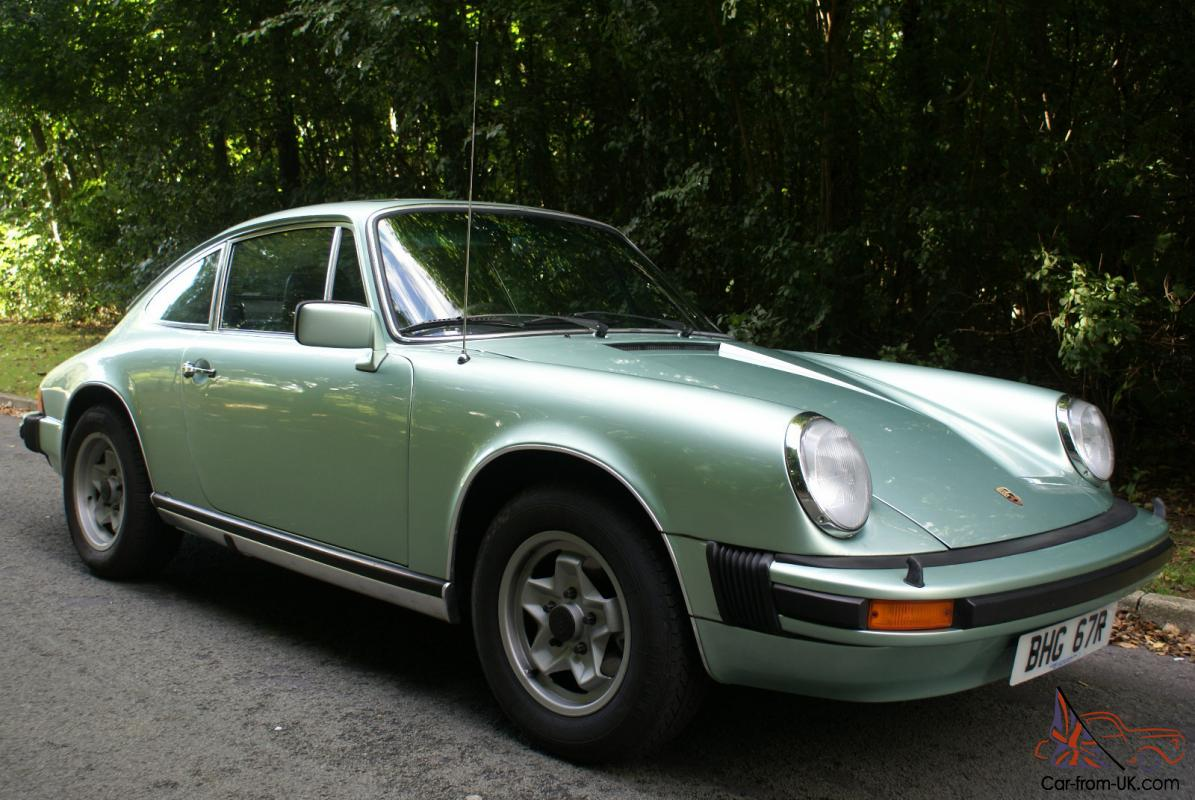 porsche 911 2 7 coupe 1976 green rhd. Black Bedroom Furniture Sets. Home Design Ideas