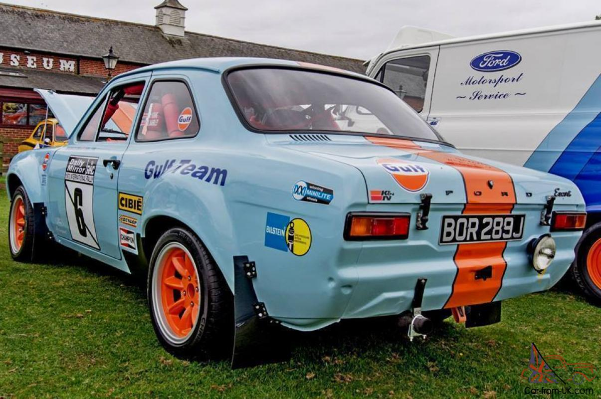 FORD ESCORT MK1 - Gulf racing colours