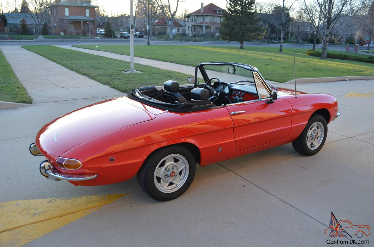 1969 alfa romeo spider convertible. Black Bedroom Furniture Sets. Home Design Ideas