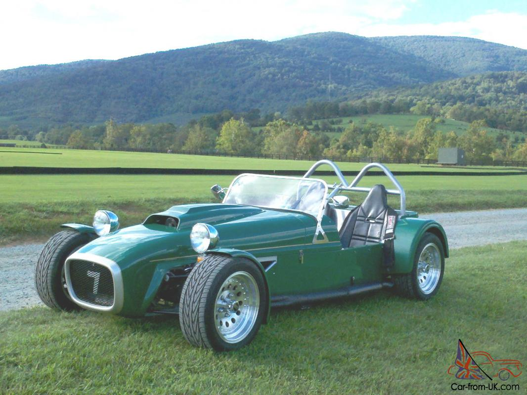 lotus 7 replica 2005 brunton super stalker 3 8l v6 0 60 in 3 sec racing green. Black Bedroom Furniture Sets. Home Design Ideas