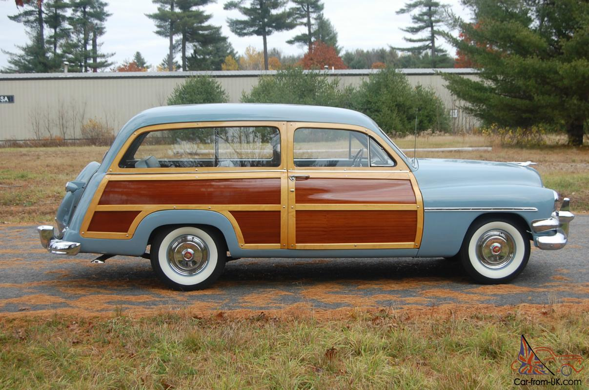 Mercury Woody Station Wagon, Reserve Lowered