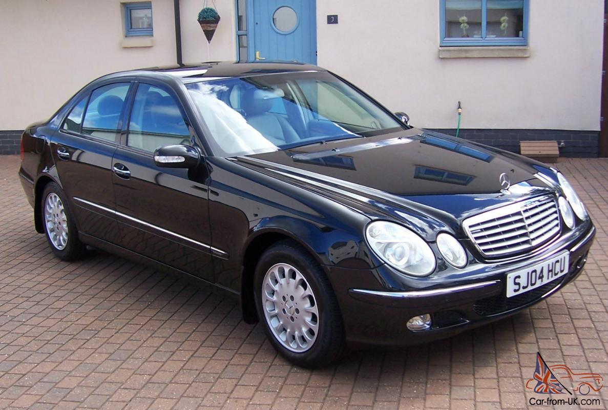 2004 04 mercedes e class e220 diesel elegance automatic saloon. Black Bedroom Furniture Sets. Home Design Ideas