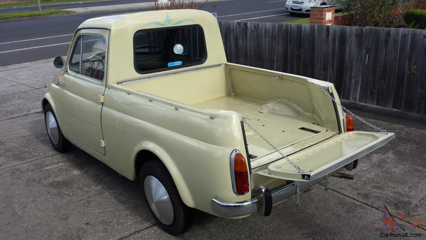 1962 Fiat 500 Gardiniera Ute Pick Up Abarth In Melbourne Vic