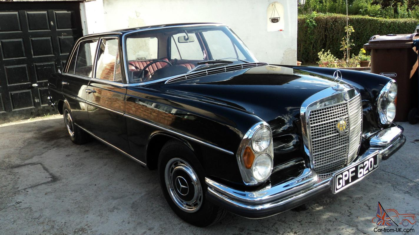 1971 mercedes benz sel classic car for sale
