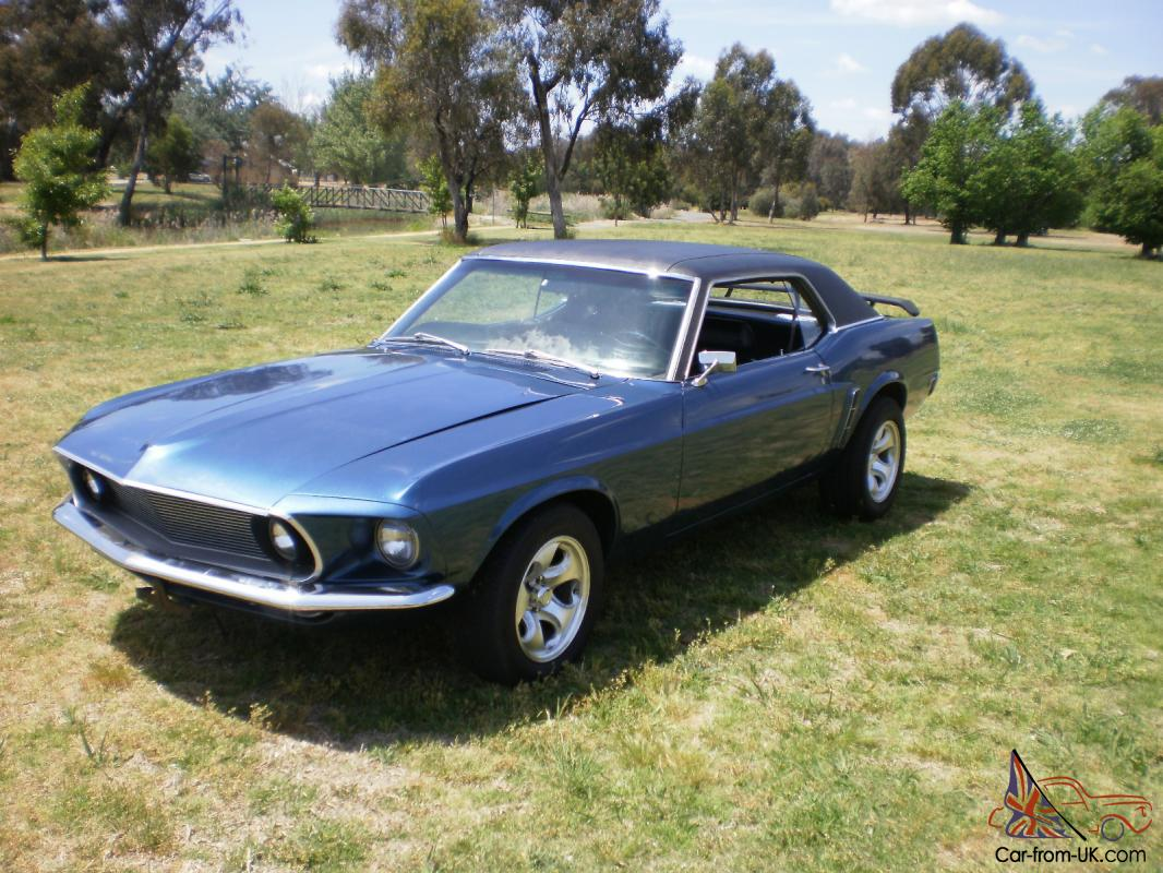 1969 mustang 351 windsor v8 auto coupe 69 mustang 351 v8 auto video to watch