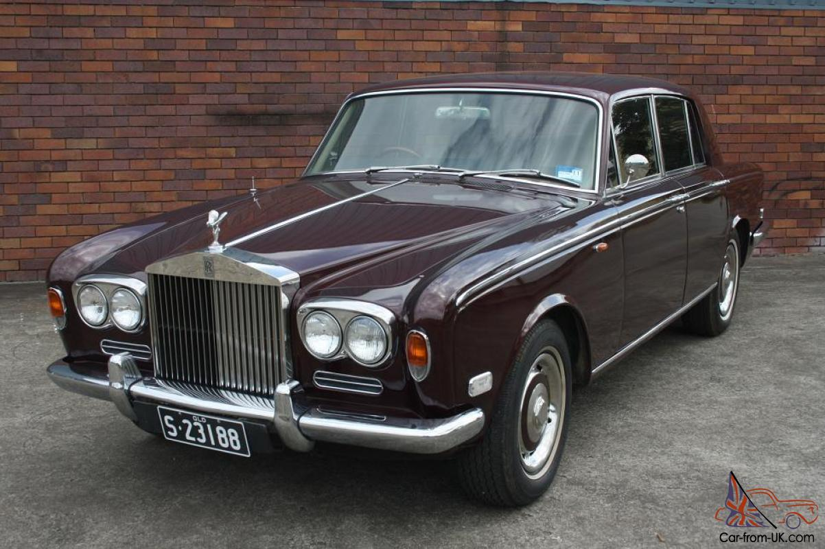 rolls royce silver shadow 1972 4d saloon 3 sp automatic 6. Black Bedroom Furniture Sets. Home Design Ideas