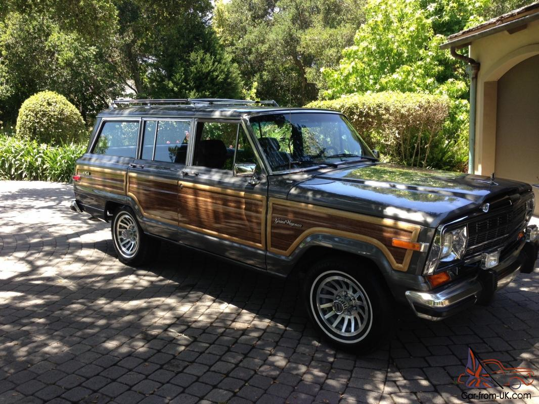 1988 jeep grand wagoneer mint condition. Black Bedroom Furniture Sets. Home Design Ideas