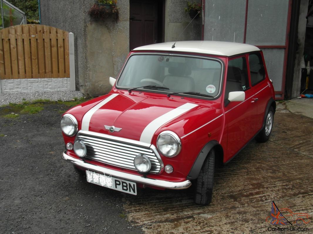 red mini cooper w reg 2000 mint condition. Black Bedroom Furniture Sets. Home Design Ideas