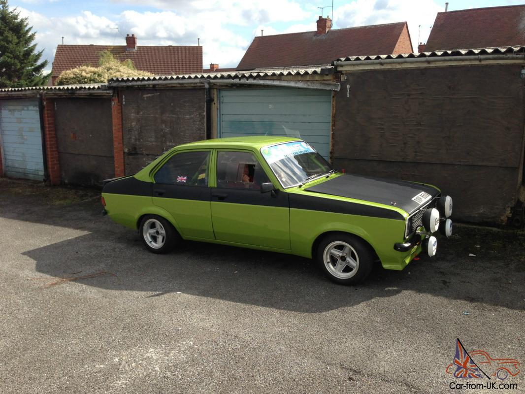 FORD ESCORT MK2 TRACK ROAD RALLY SHOW CAR 2.0 PINTO TWIN 48