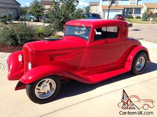 1932 plymouth 3 window coupe hotrod street rod 32 hot