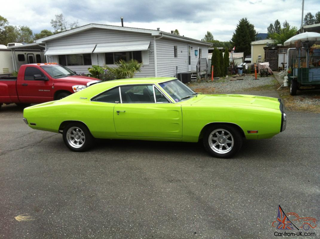 1970 dodge charger 500 sublime green