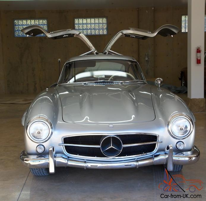 RARE 1955 MERCEDES 300SL GULLWING COUPE!!! FACTORY RESTORED