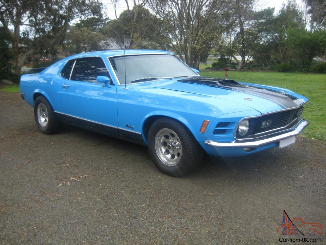 Ford Mustang 1970 Fastback Mach 1 In Melbourne Vic
