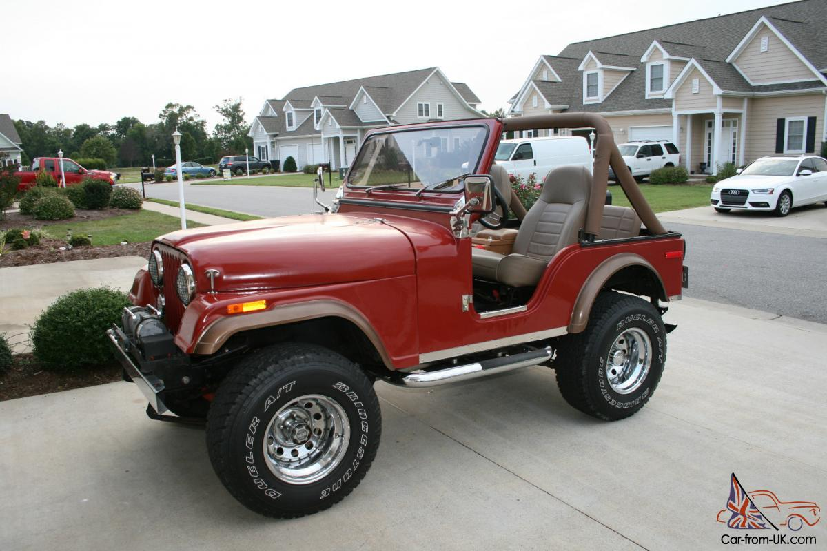 1977 jeep cj5 exceptional condition cj 5 v8 304 4spd 4x4 awesome. Black Bedroom Furniture Sets. Home Design Ideas
