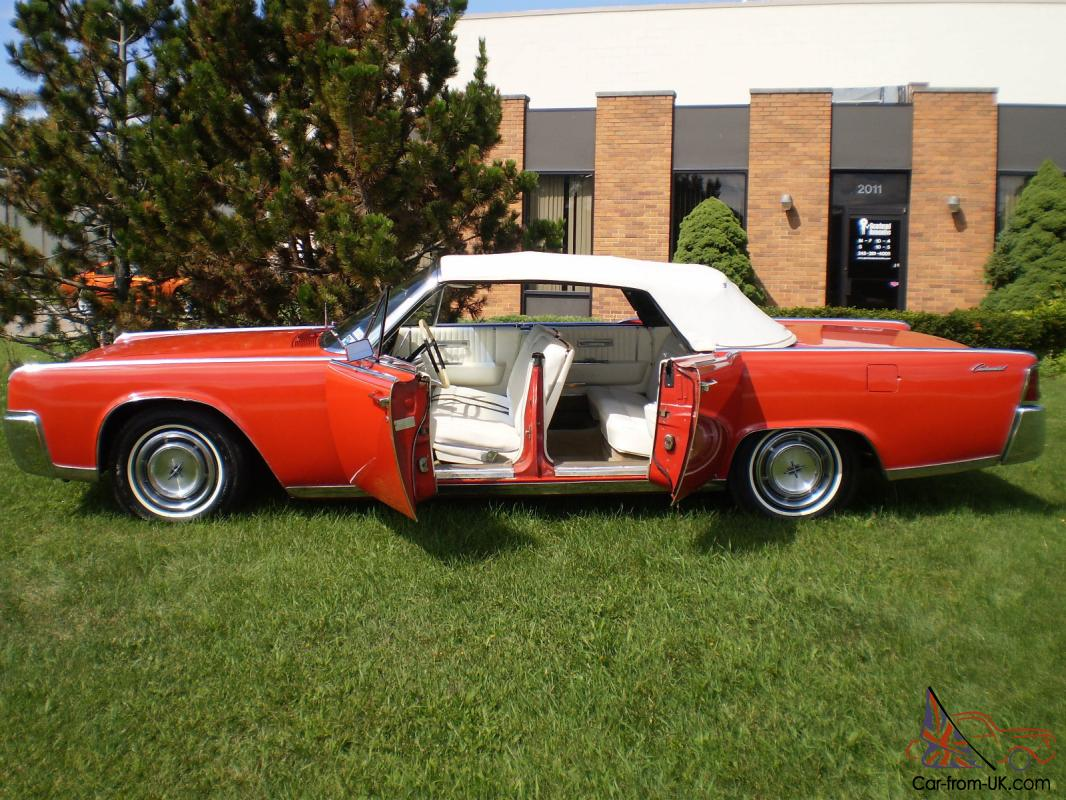 64 lincoln continental 4dr convertible. Black Bedroom Furniture Sets. Home Design Ideas
