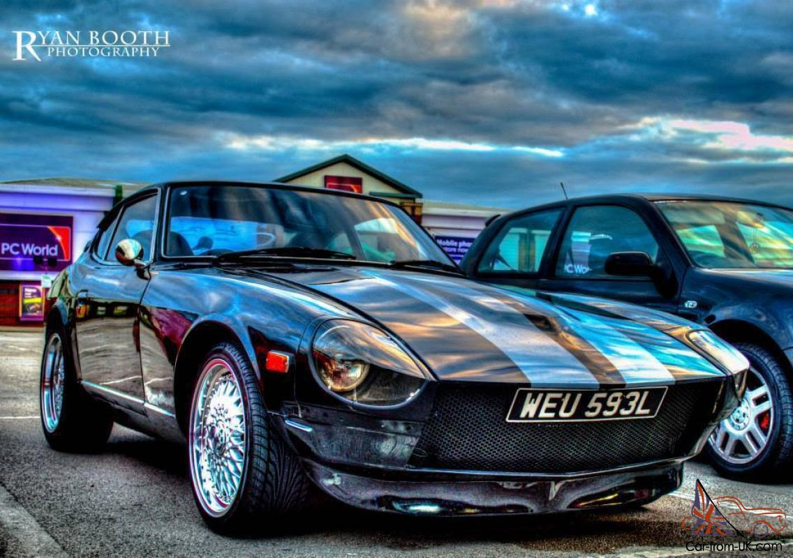 1972 datsun 240z  not 260  black some mods very clean very