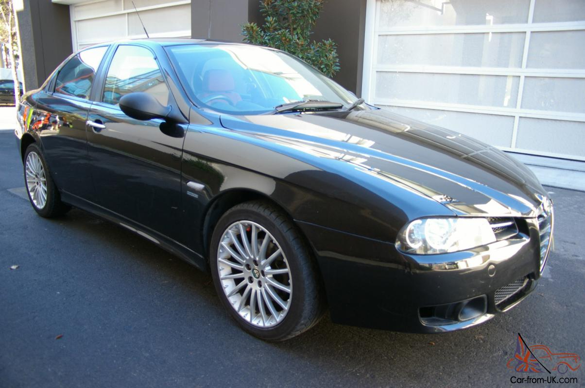 2006 alfa romeo 156 v6 sedan auto log books 100 143km great car make an offer in melbourne vic. Black Bedroom Furniture Sets. Home Design Ideas