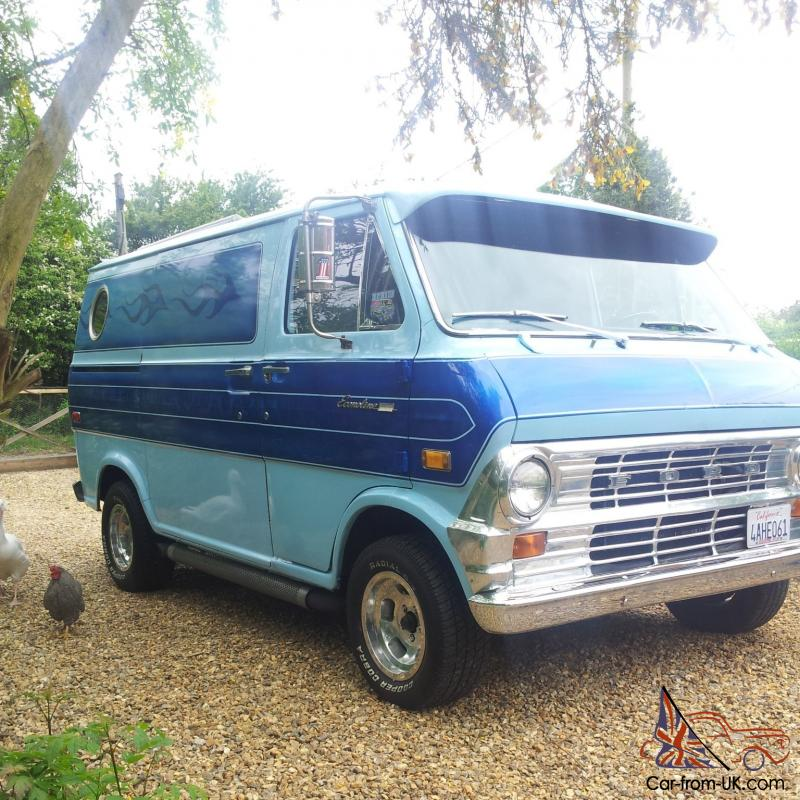 72 ford econoline surf custom 70 s van. Black Bedroom Furniture Sets. Home Design Ideas