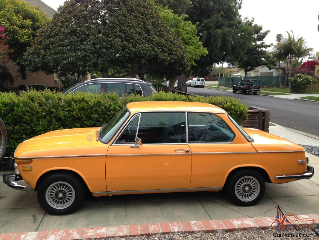 1973 bmw 2002tii no reserve. Black Bedroom Furniture Sets. Home Design Ideas