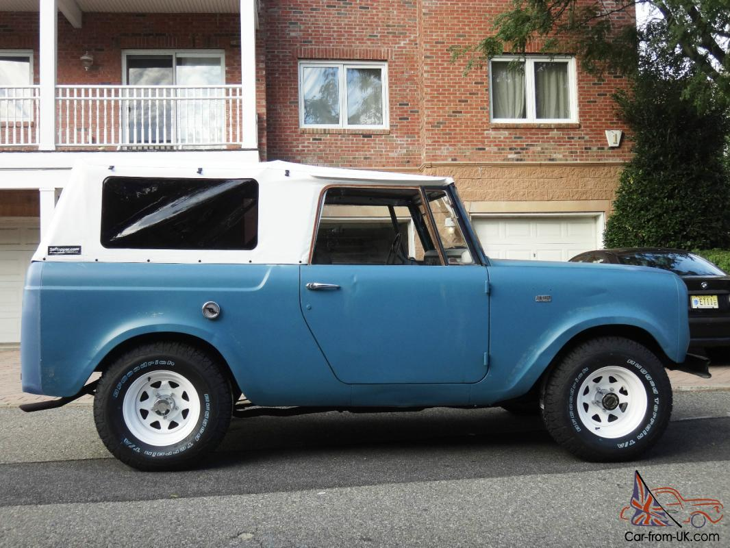 1966 International Harvester Ih Scout 4x4 800 Soft Top Convertible Watch Video