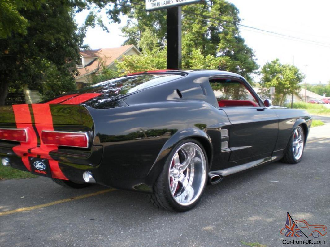 1967 mustang fastback pro touring restomod show car photo