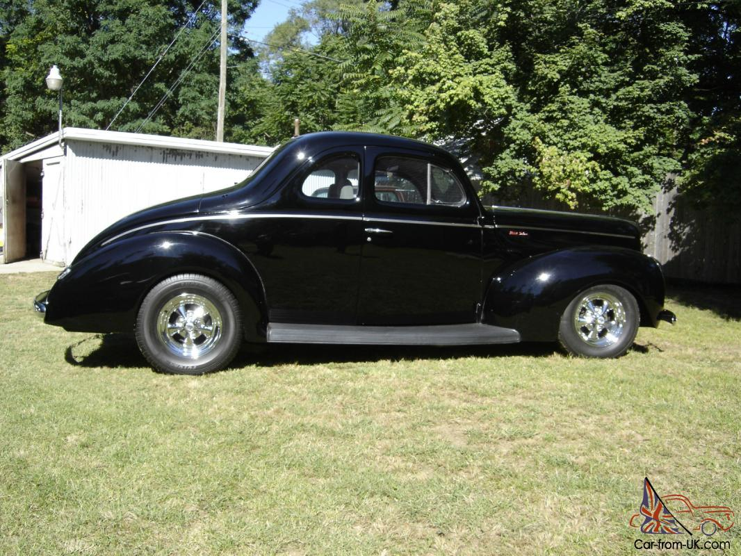 1940 ford deluxe coupe street rod 40 hot rod. Black Bedroom Furniture Sets. Home Design Ideas